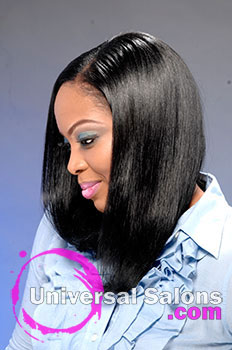 "Lacey Singleton's ""Black Barbie"" Long Hairstyle"