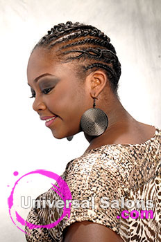 Pamela Webster's Free Style Twist Hairstyle