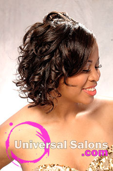 Beautiful Updo Hairstyle and Make Up Tutorial from Tammy Herod