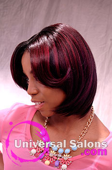 """Natasha Johnson's """"Teenage Dream"""" Long Hairstyle with Layers and Hair Color"""