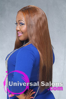 Long Hair Extensions with Hair Color from Deirdre Clay