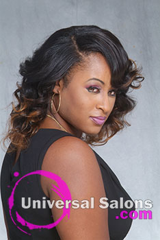 Elegant Sew In Extensions Ombre Hairstyle