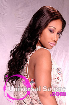 Shay Samuels' Lady Lace Long Hairstyle Extensions with Layers