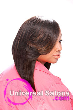 Angled Bob Hairstyle from Cadasia Jones
