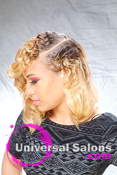 Body Curl Hairstyle from Charleston's own Mecca McFadden