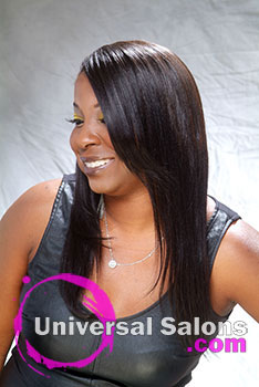 Miss Sleek Mane Long Hairstyle from Denise Cummings