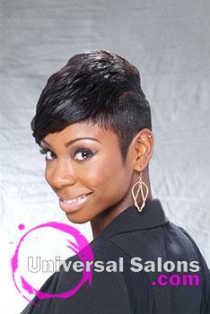 Chic Asymmetrical Short Layered Bob Hairstyle from Brenda Barron
