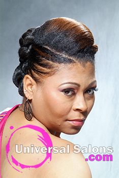Phenomenal Updo39S Hairstyles Short Hairstyles For Black Women Fulllsitofus