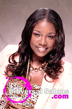 "Shae Thompson's ""Hot Chocolate"" Sew In Weave Hairstyle"