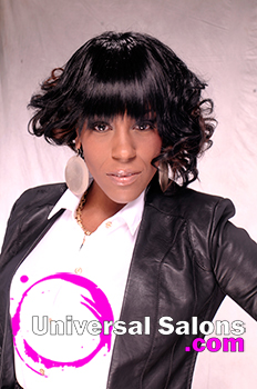 """Ashley Coutain's """"Soft Textures"""" Curly Asymmetric Hairstyle"""