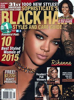 Universal Salons Gets 23 Hairstyles Featured in Magazine