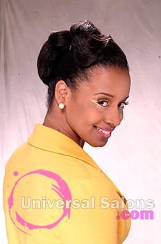 Deep Wave Black Hairstyle from Pamela Webster