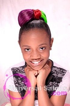 "Pamela Webster's ""Elegant Bow"" Kid's Hairstyle"