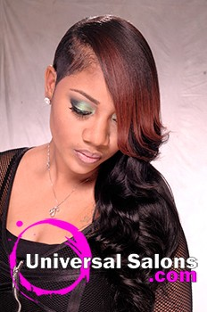 Salon: Girlfriends Beauty Salon Stylist: Tracie Esmond Model: Lorelle Make Up: Deirdre Clay