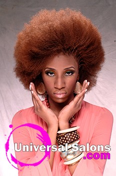 """""""Afro Centric"""" Natural Hairstyle"""