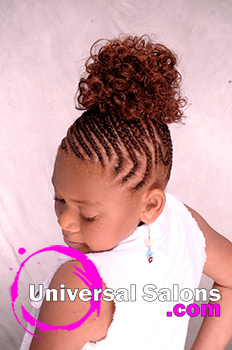 Updo Kid's Hairstyle from Tanisha Higgins