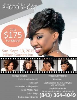 Charleston, SC Hair Stylist Photo Shoot