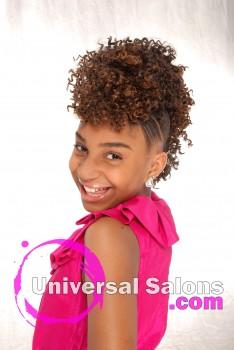 Salon: A Lady Becoming SalonStylist: Ebony CurtisModel: KamariMake Up: Deirdre Clay