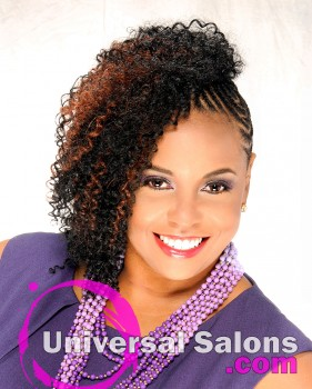 Natural Extensions with Cornrows from Temi Roberts