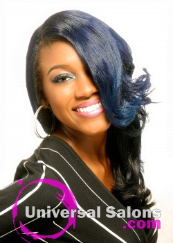 Natural Blue Sapphire Blowout from Paulette Edwards