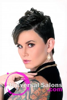 Short Pixie Cut Hairstyle from Evonda Watson