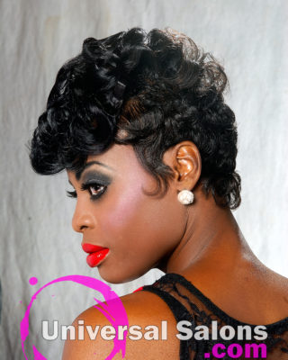 Short Curly Hairstyle from Lawan Cummings-Neely