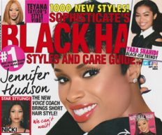 Sophisticate's Black Hair Styles and Care Guide Sept. 2017