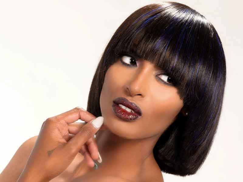 Baby Doll Bob Hairstyle from Brittany Woods-Brown