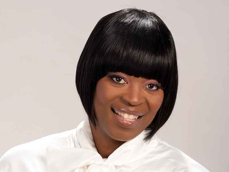 Short Bob Cleopatra Hairstyle for Black Women