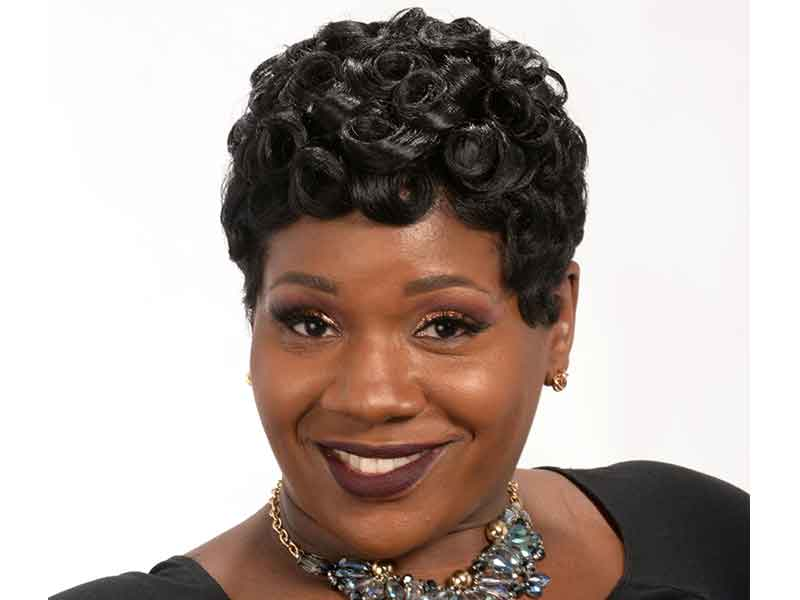Short Pin Curls Hairstyle by Octavia Bonnette