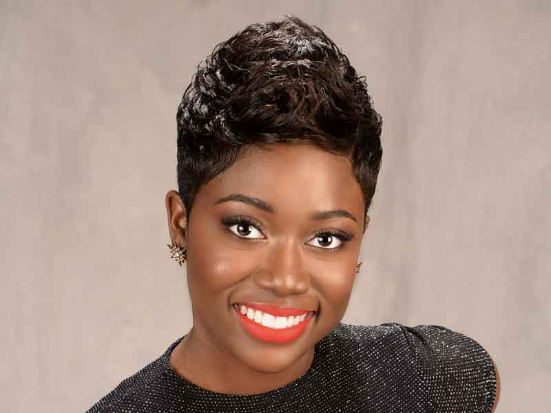 Short Prissy Pixie Haircut from Shay Walker