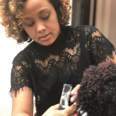 Natural hair care expert Sess Cannon