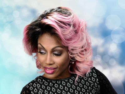 Pink Lace Front Wig from Denise Granberry