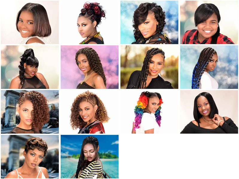 "Choose the ""People's Choice Hairstyle"" From Our Ft. Walton Beach, FL Photoshoot"