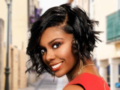 Short Bob Hairstyle for Black Women (Cover)