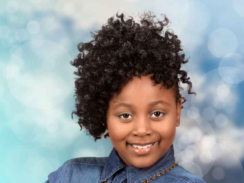 Cute Natural Hairstyles for Kids from Ashley Howell