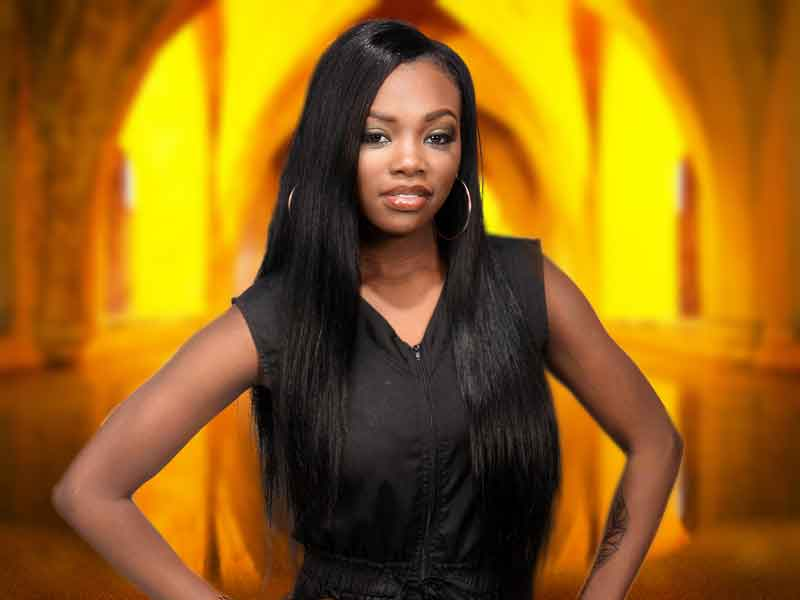 Long Flowing Sew In Weave Hairstyle for Black Women from Cynthia Sheppard