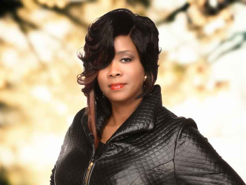 Lace Front Wig with a Curly Bob Haircut from Carla Harris