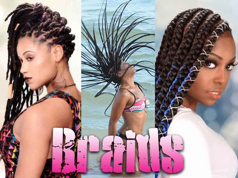 9 Most Attractive Lemonade Braid and Braids Hairstyles for 2020
