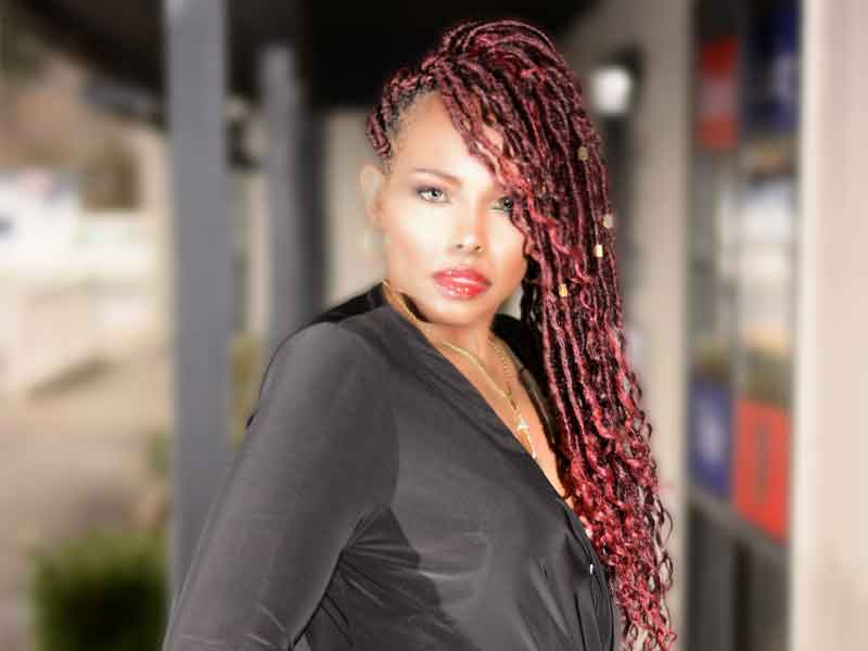 Hot Goddess Locks with a Halo Braid from Tish Summers