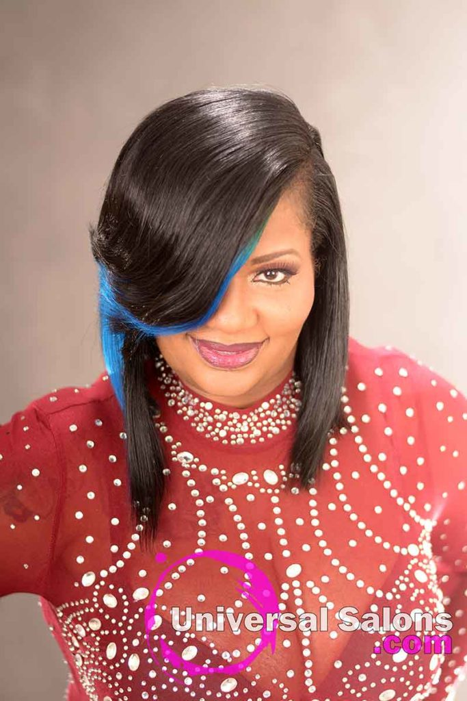 Front View: Check Out This Fabulous Quick Weave Bob Hairstyle