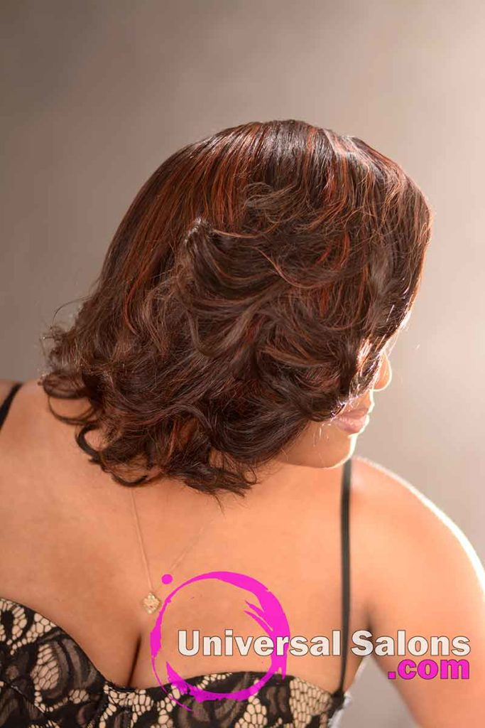 Right View: Cute Hairstyle for Naturally Curly Hair from Nikki Glasgow in Columbia, SC