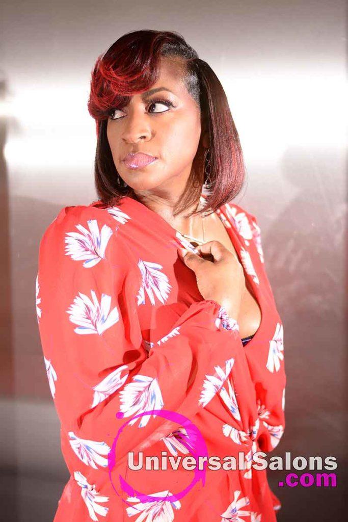 3/4: Elegant Bob Hairstyle for Black Women by Deedra Mcleod in Hartsville, SC