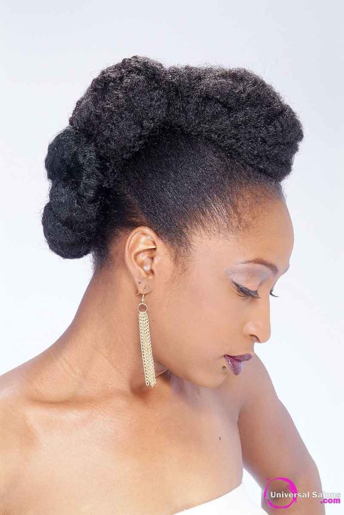 Twist and Bun Updo Hairstyle from Tammy Herod