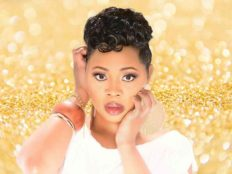 Short Hairstyle for Black Women with Tapered Sides from Ashlee Gradic