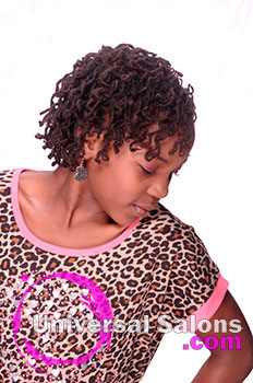 Left View: Kid's Natural Locs Hairstyle
