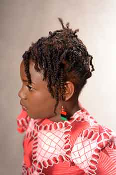 Right View: Short Twists for Kids Black Hairstyles for Little Girls