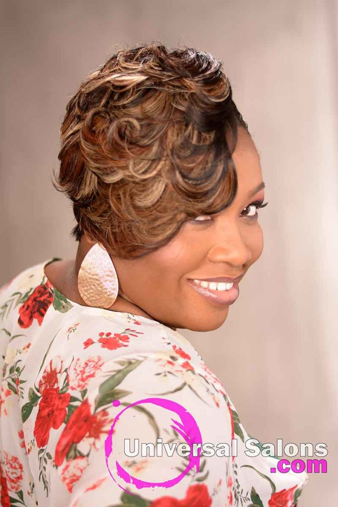 Curly Quick Weave Hairstyle Hairstyle
