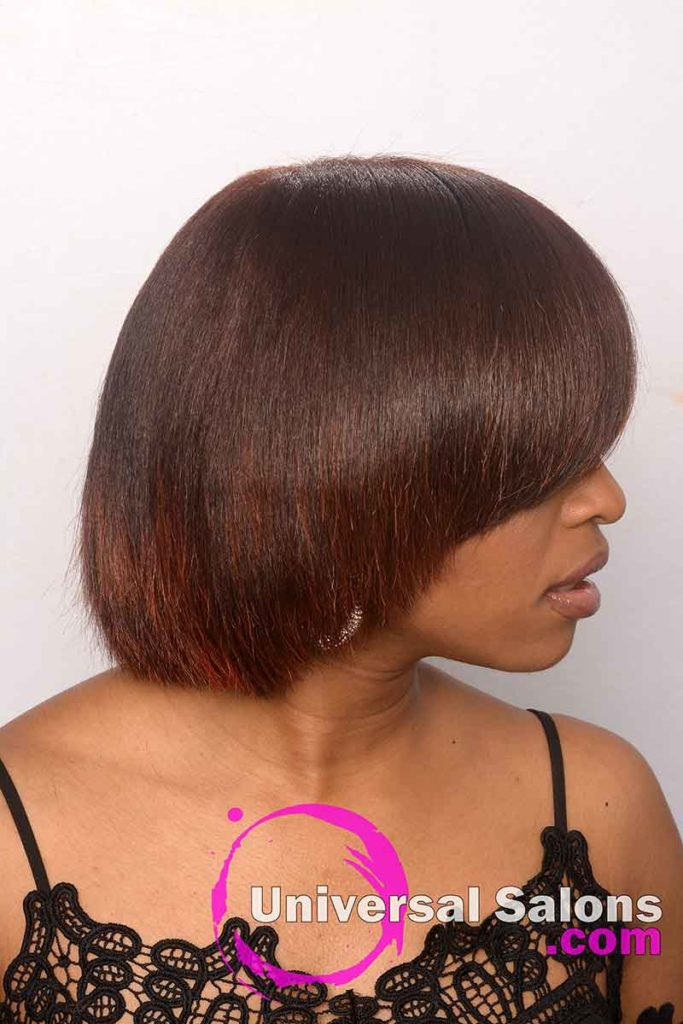 Right View of Natural Hairstyles With Color