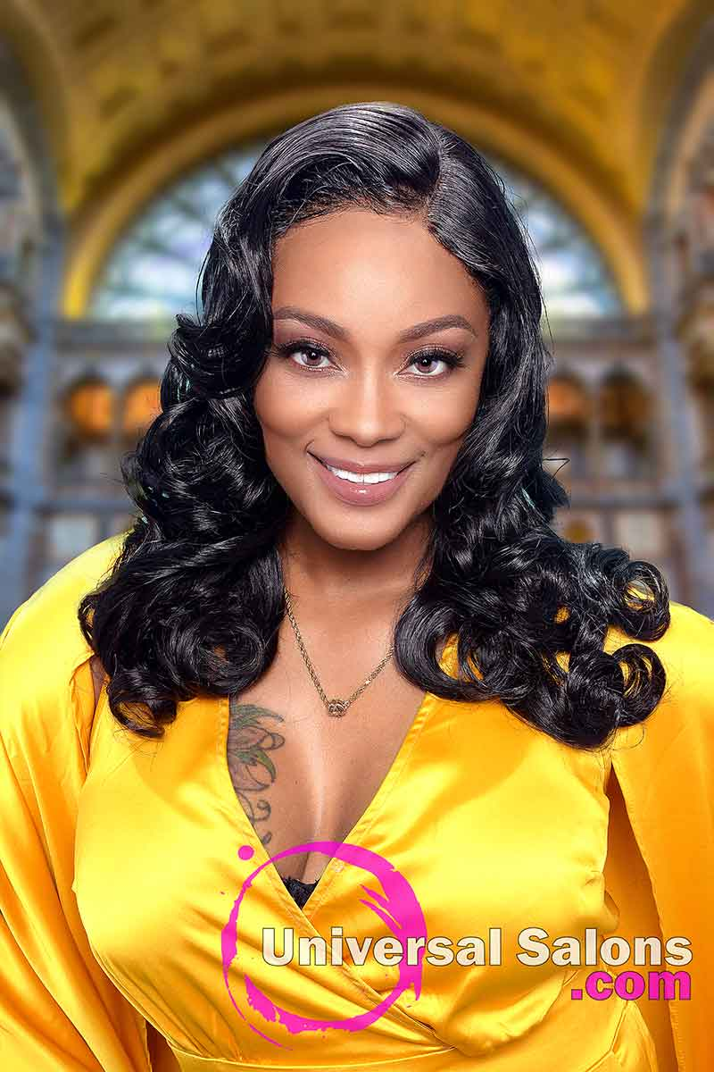 Front View 4x4 Lace Closure Wig